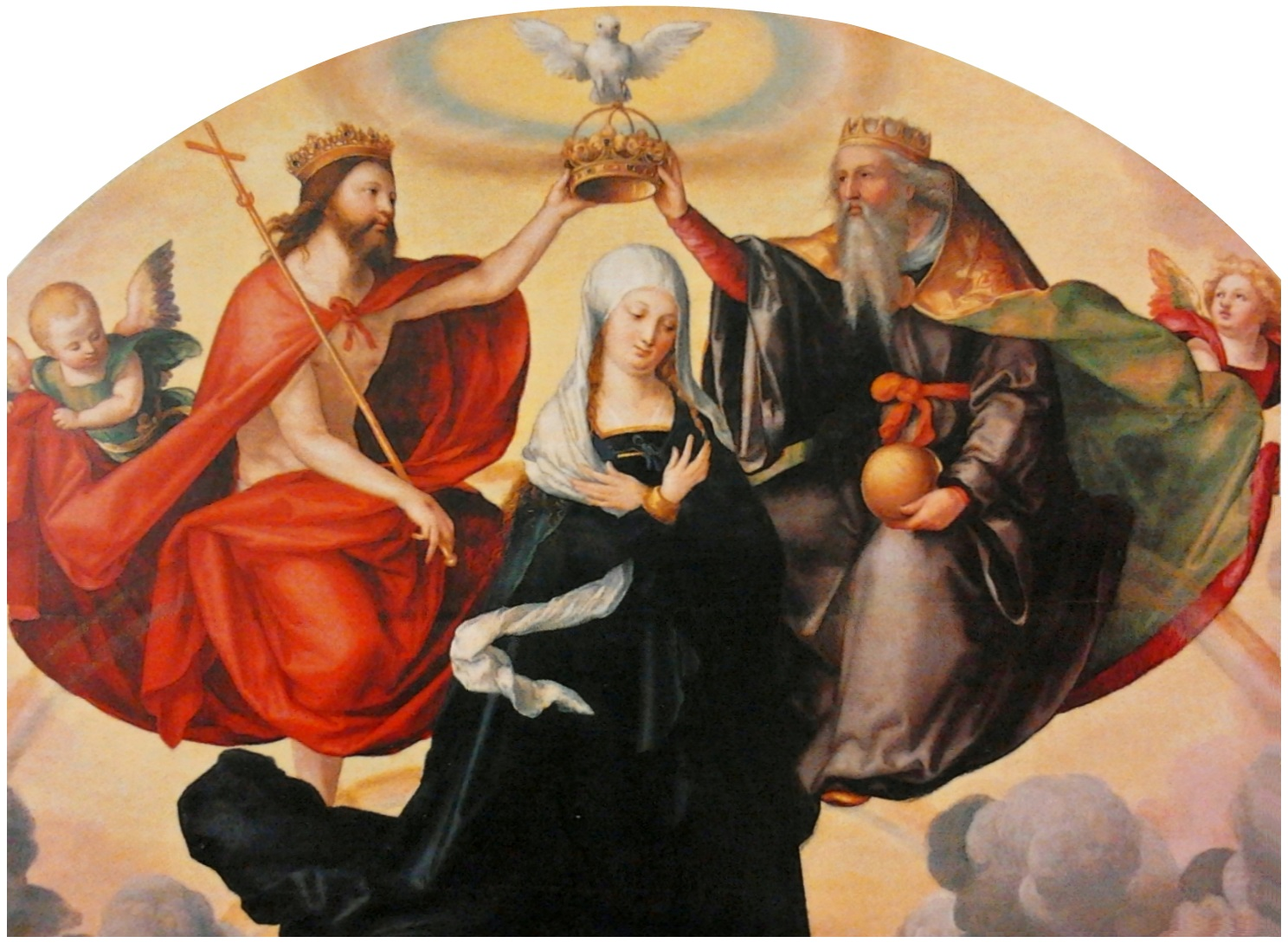 Pencz Coronation of the Virgin Mary
