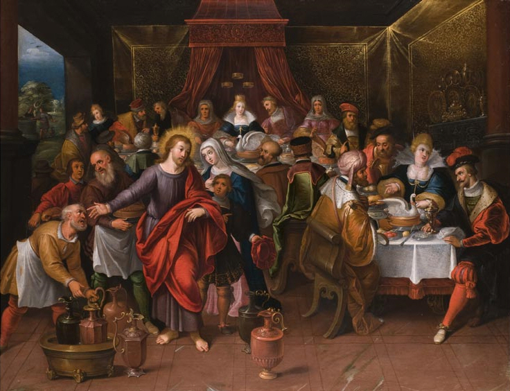 Cornelis de Bailleur Marriage at Cana